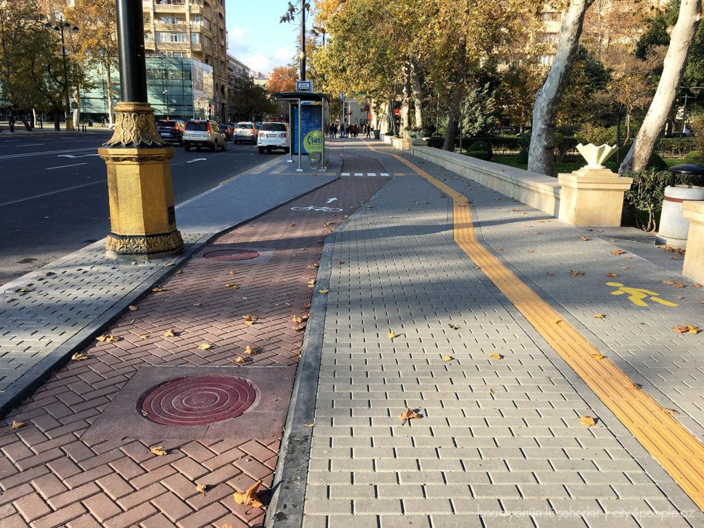Bakıda velosiped infrastrukturuna ehtiyac var: Dövlət başçısına müraciət - İnsan yönümlü şəhərlər